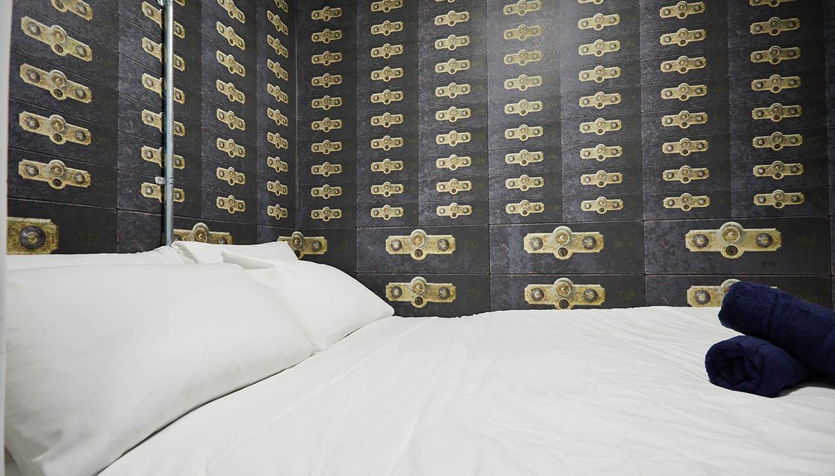 Caveau segreto, ora è una stanza di hotel