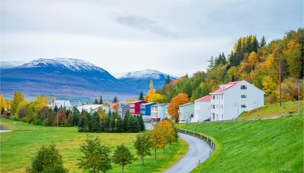 Viaggio ad Akureyri in Islanda