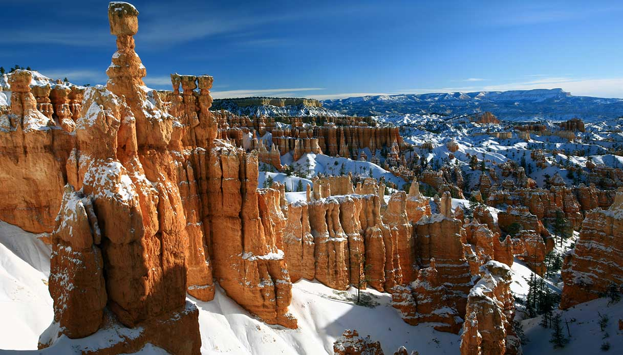 Parchi Nazionali in inverno, Bryce Canyon