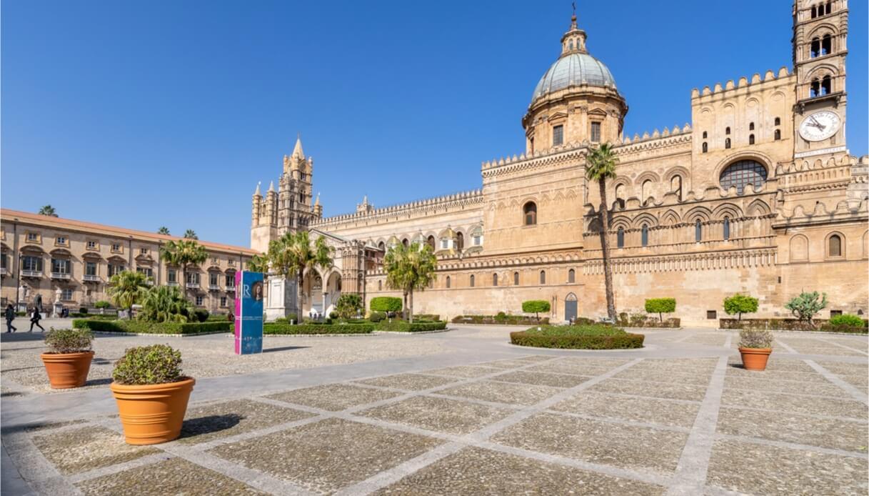 La volta della Cattedrale di Palermo