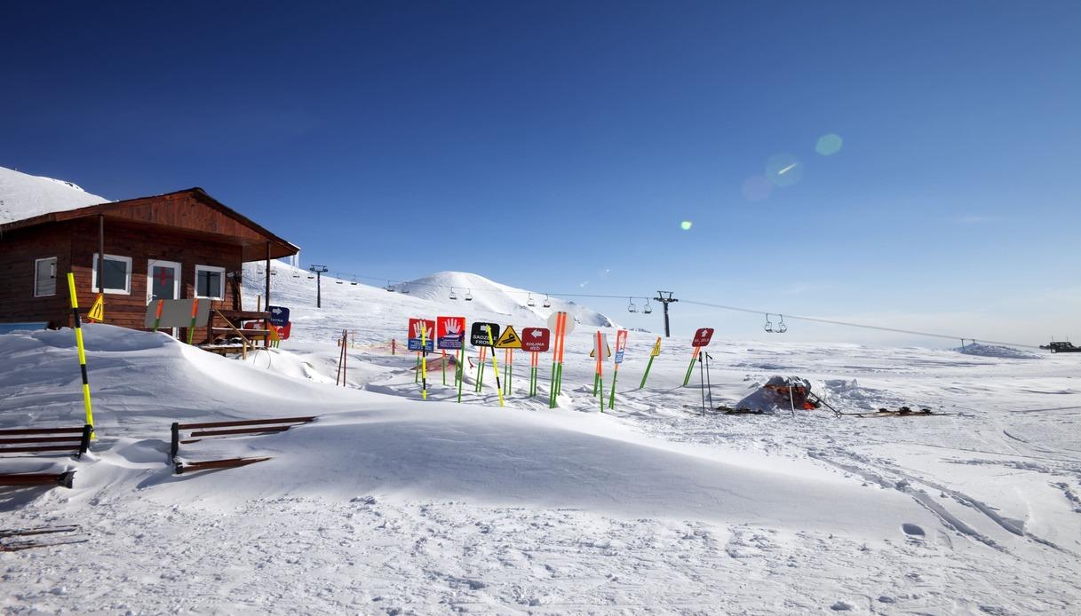 Impianti sci in Georgia