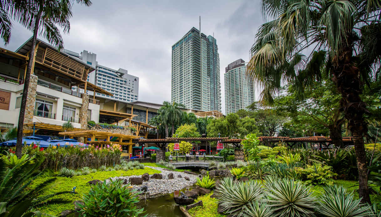 La città di Manila