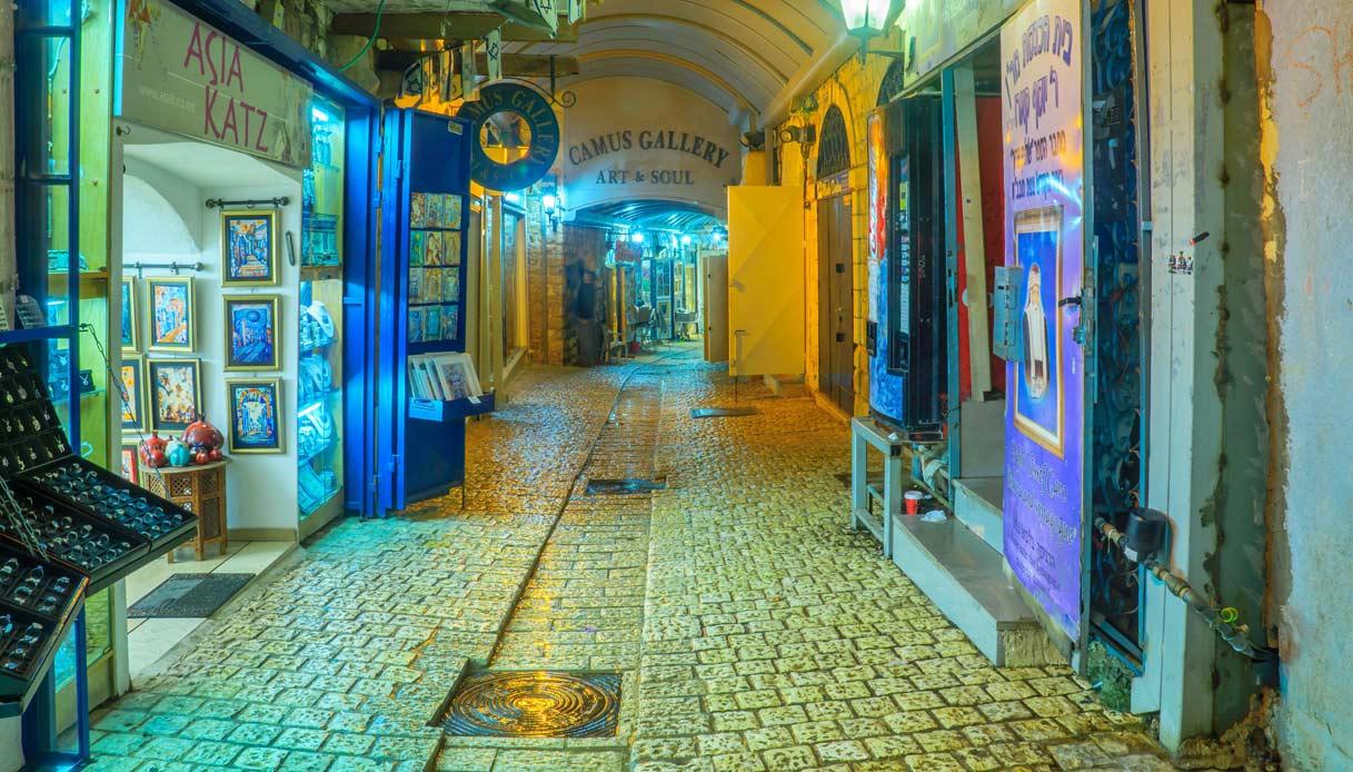 safed-borgo-blu-israele