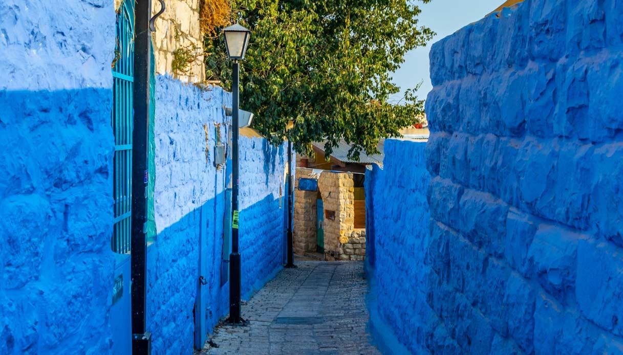 safed-villaggio-blu-israele