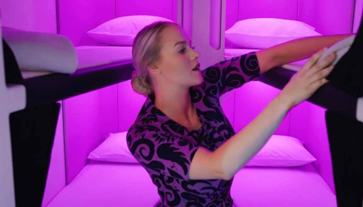 AIR-NZ_skynest-hostess