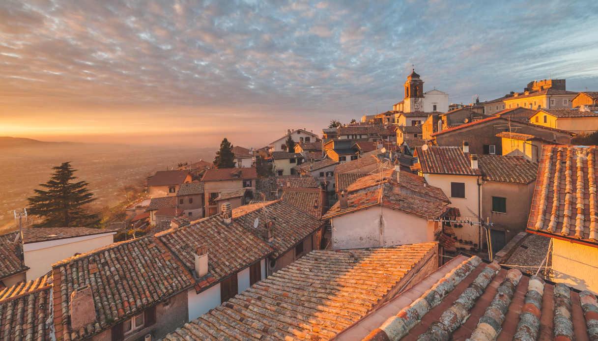 Il borgo di Castel San Pietro Romano