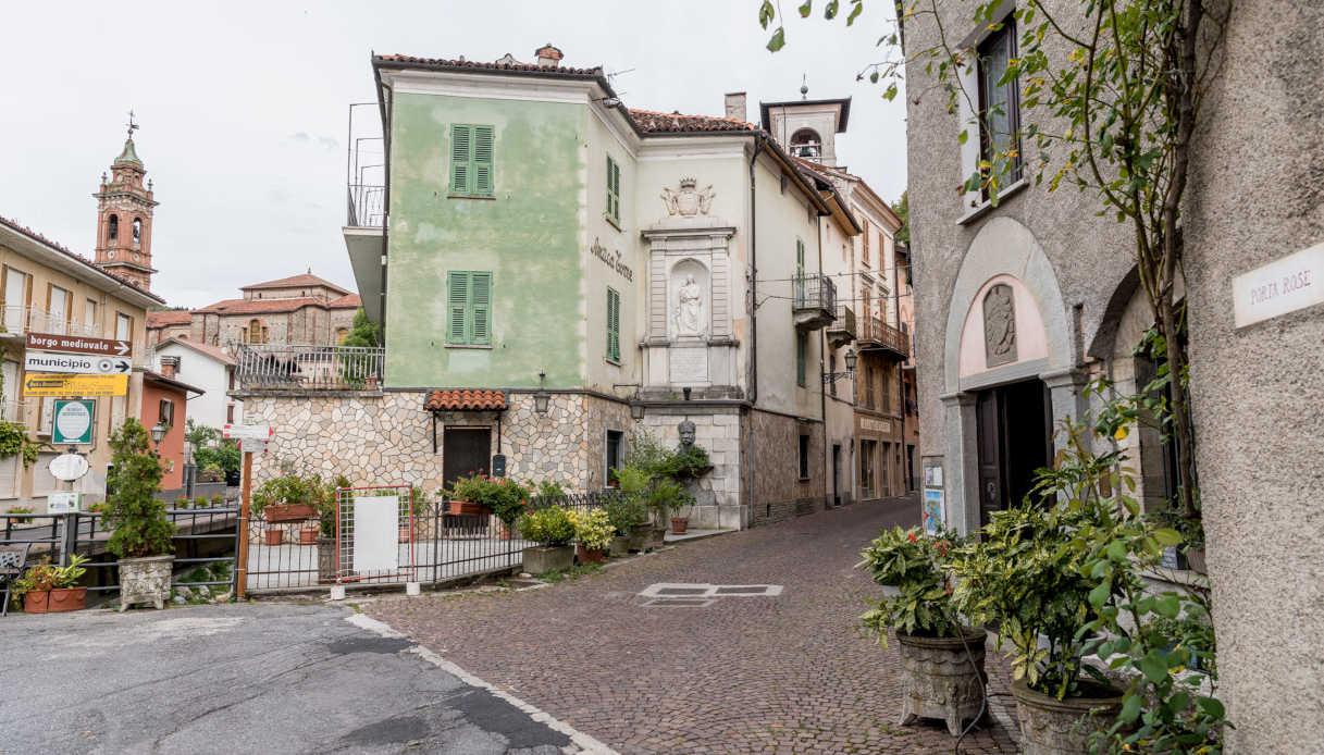 Borgo di Garessio in Piemonte