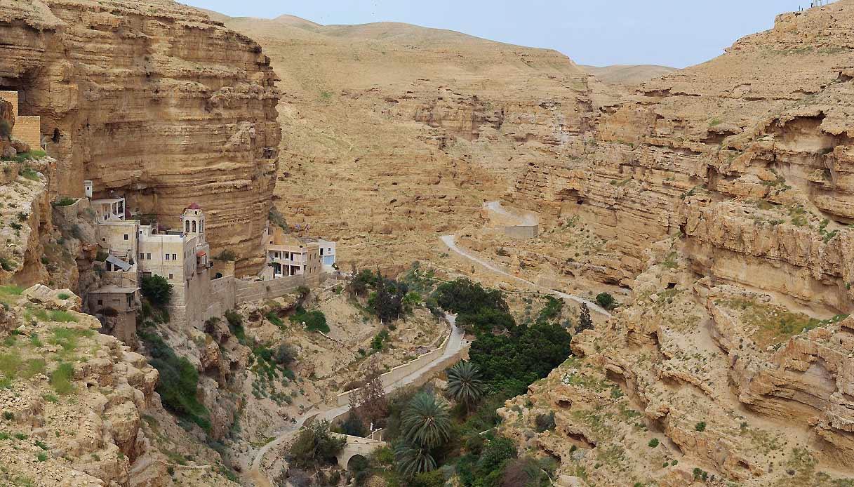 israele-Ein-Prat-wadi-qelt-monastero-faran