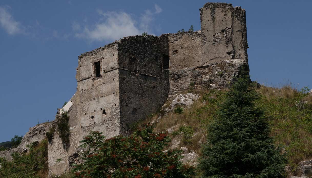 Papasidero-castello