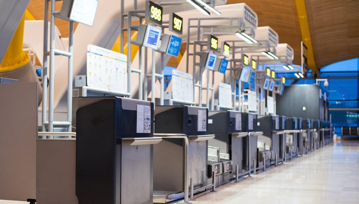riconoscimento facciale aeroporto
