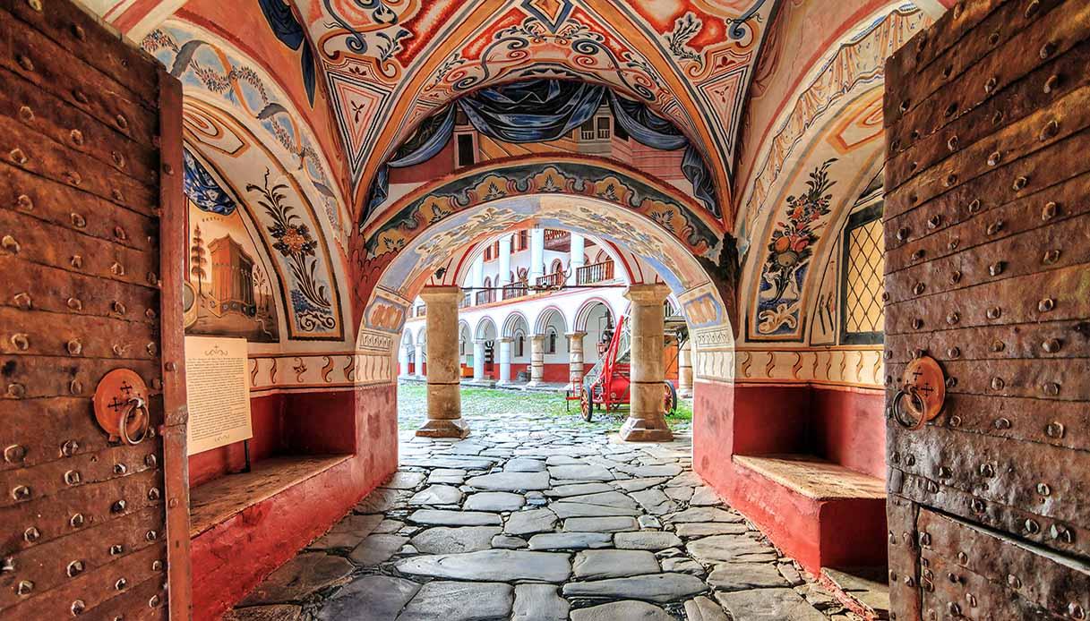 rila ingresso monastero
