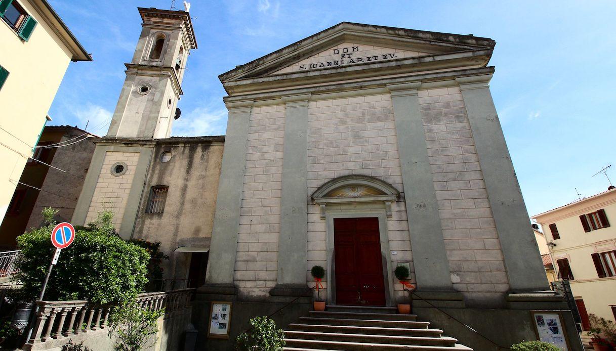 riparbella chiesa