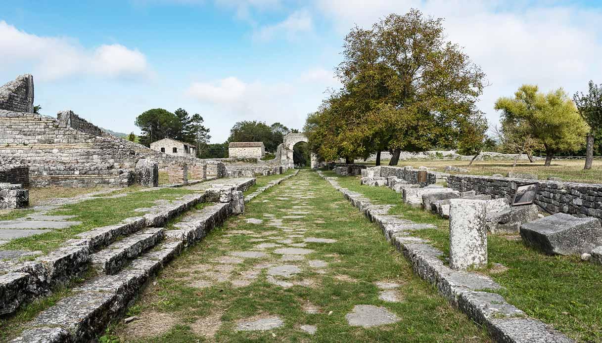 sepino rovine archelogiche