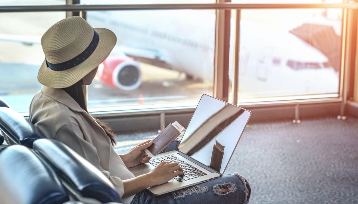 wi-fi gratis in aeroporto
