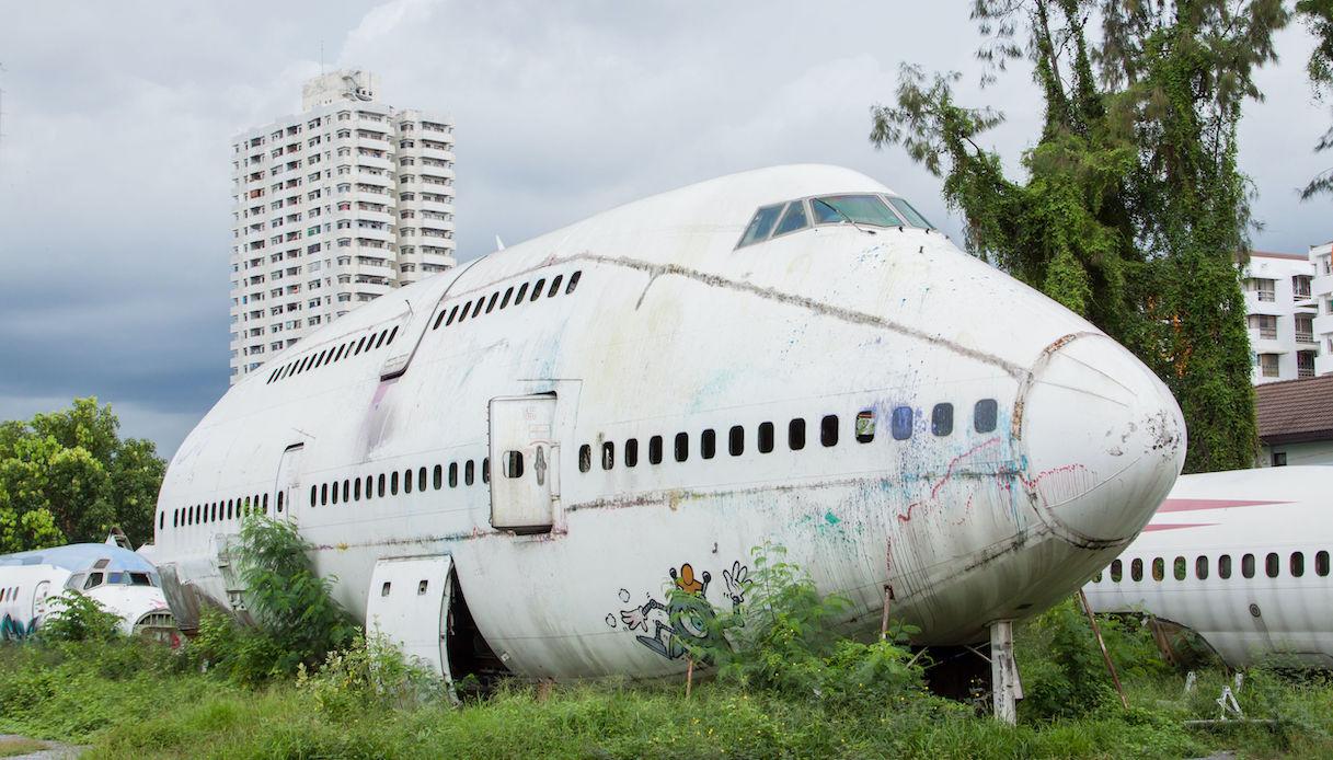 aereo in disuso
