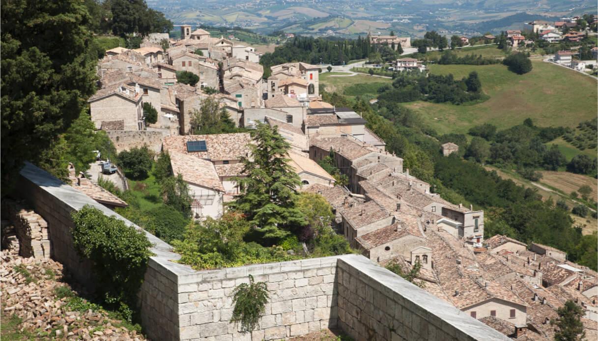 Il borgo di Civitella del Tronto