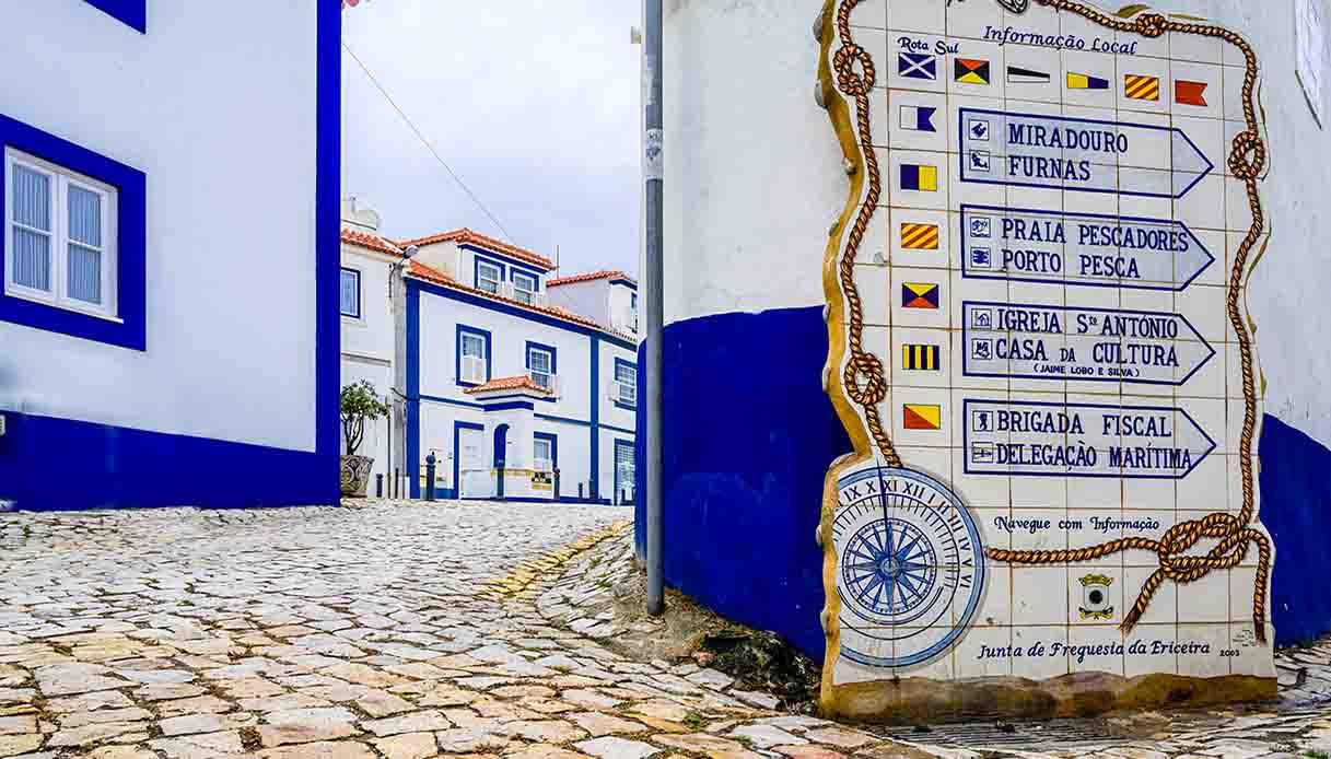 Ericeira borgo portogallo