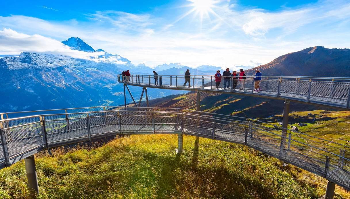 ponte sospeso di Grindelwald