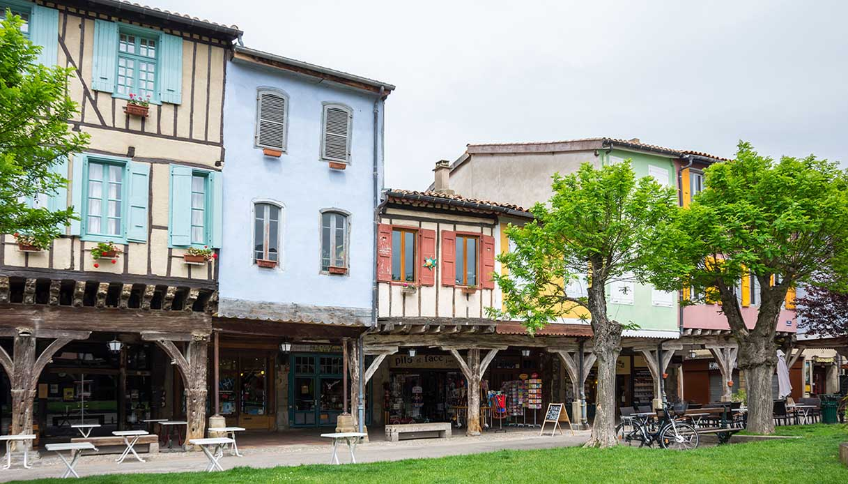 Mirepoix borgo francese