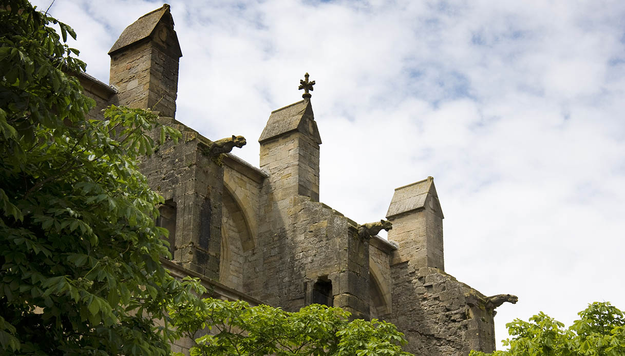 Mirepoix dettagli cattedrale