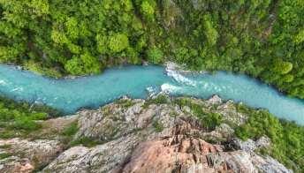 Il Canyon di Tara è il più profondo e spettacolare d'Europa