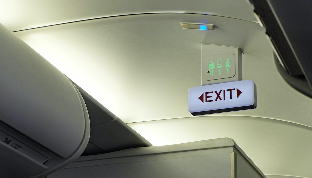 toilette aereo