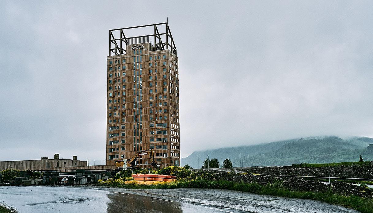 In Norvegia c'è il grattacielo biodegradabile più alto del mondo