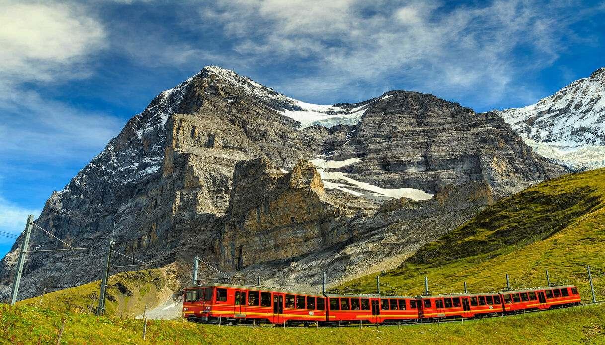 jungfraujoch treno di grindelwald