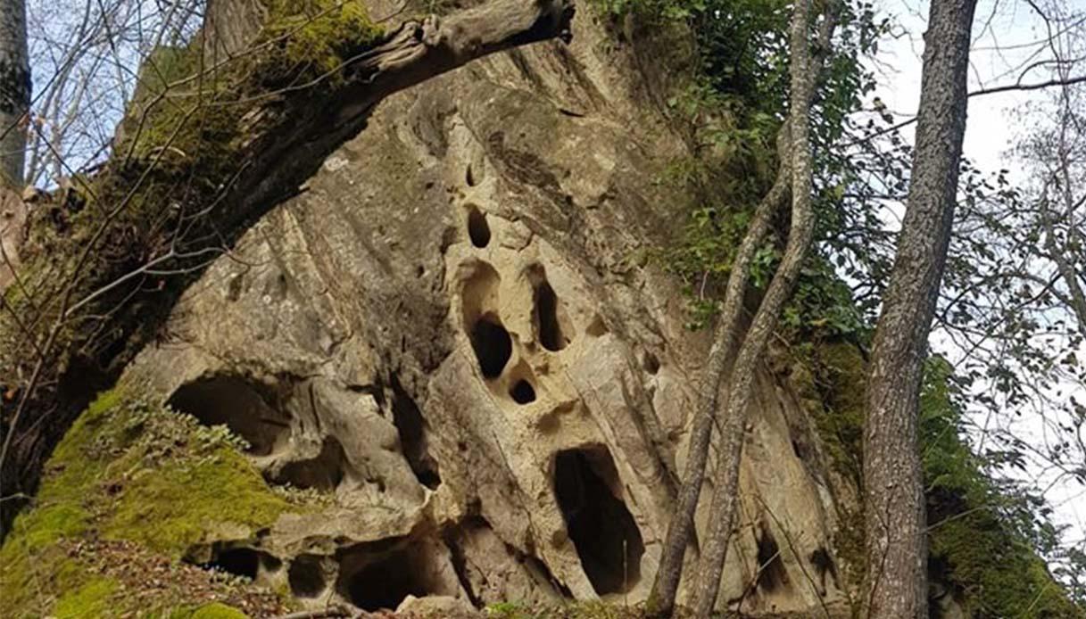 roccia dell'appennino