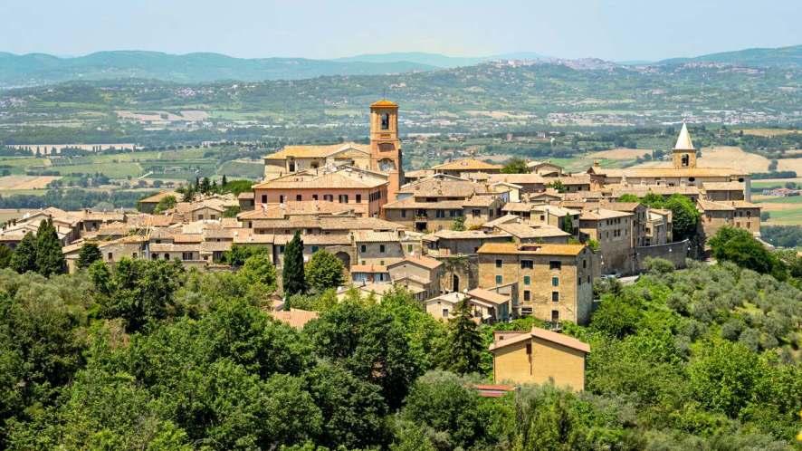 Bettona, in Umbria, è uno dei borghi più belli d'Italia