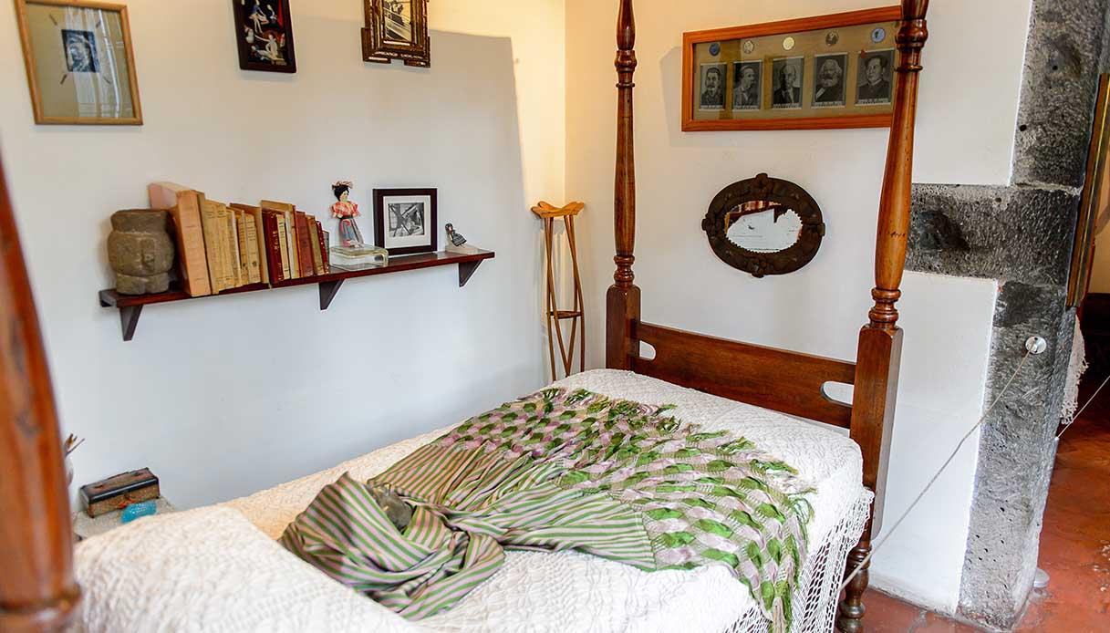 camera da letto casa azul