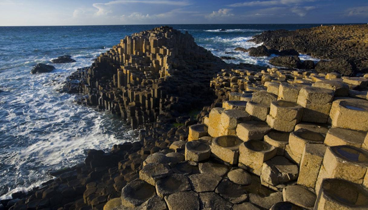 Un patrimonio mondiale: Giant's Causeway