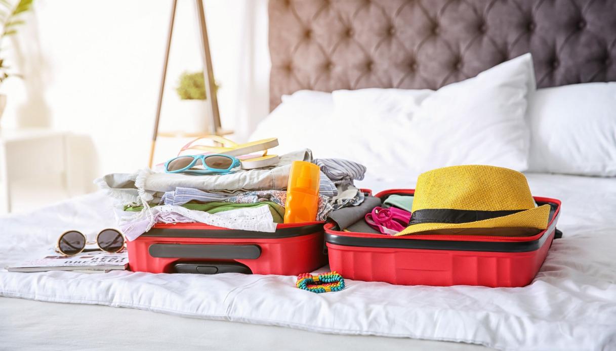 conservare gli oggetti da viaggio