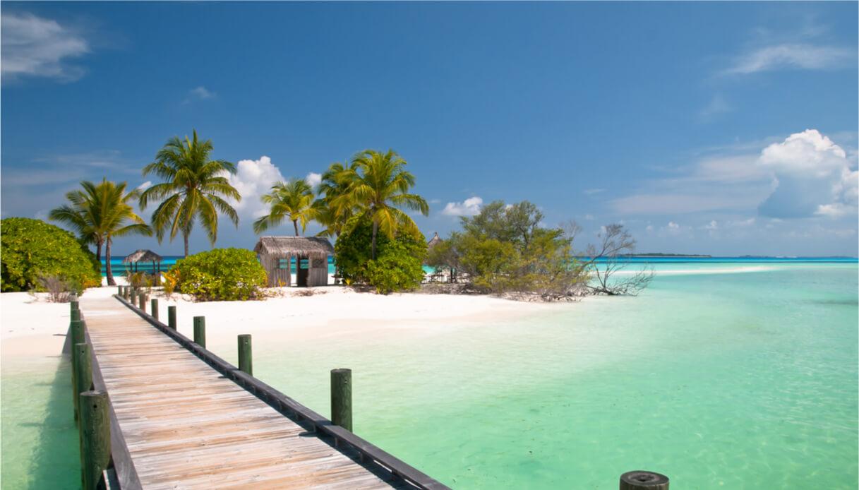 Vista sulle isole caraibiche
