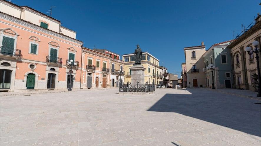 Il bellissimo borgo di Venosa in Basilicata