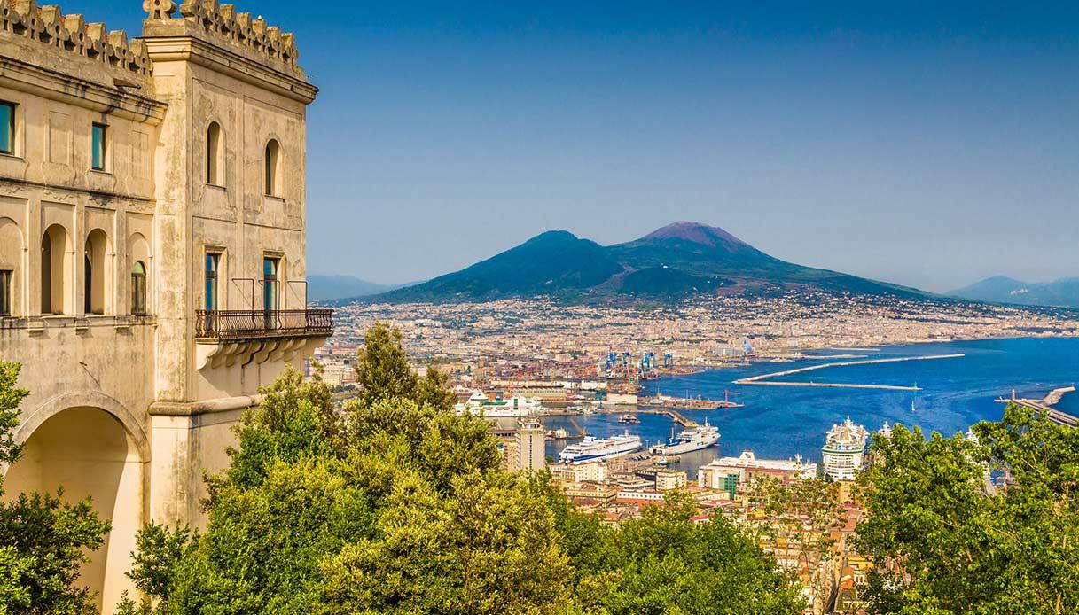 Napoli, bella da togliere il fiato