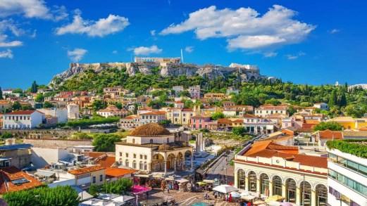 """La """"Grande passeggiata di Atene"""", il nuovo percorso pedonale della capitale greca"""