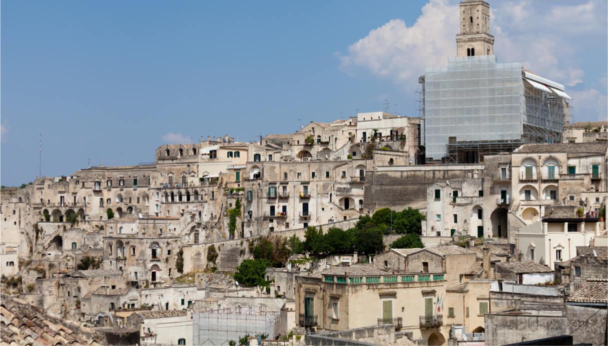 Panorama del borgo di Irsina