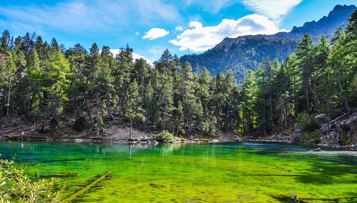 lago verde val di susa