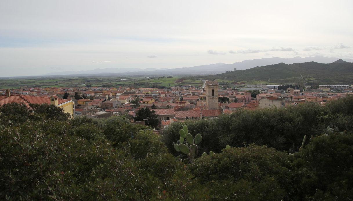 Il borgo di Sardara