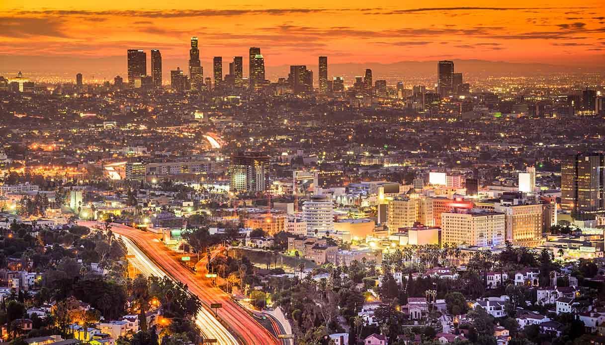 i tramonti di Los Angeles sono a casa tua