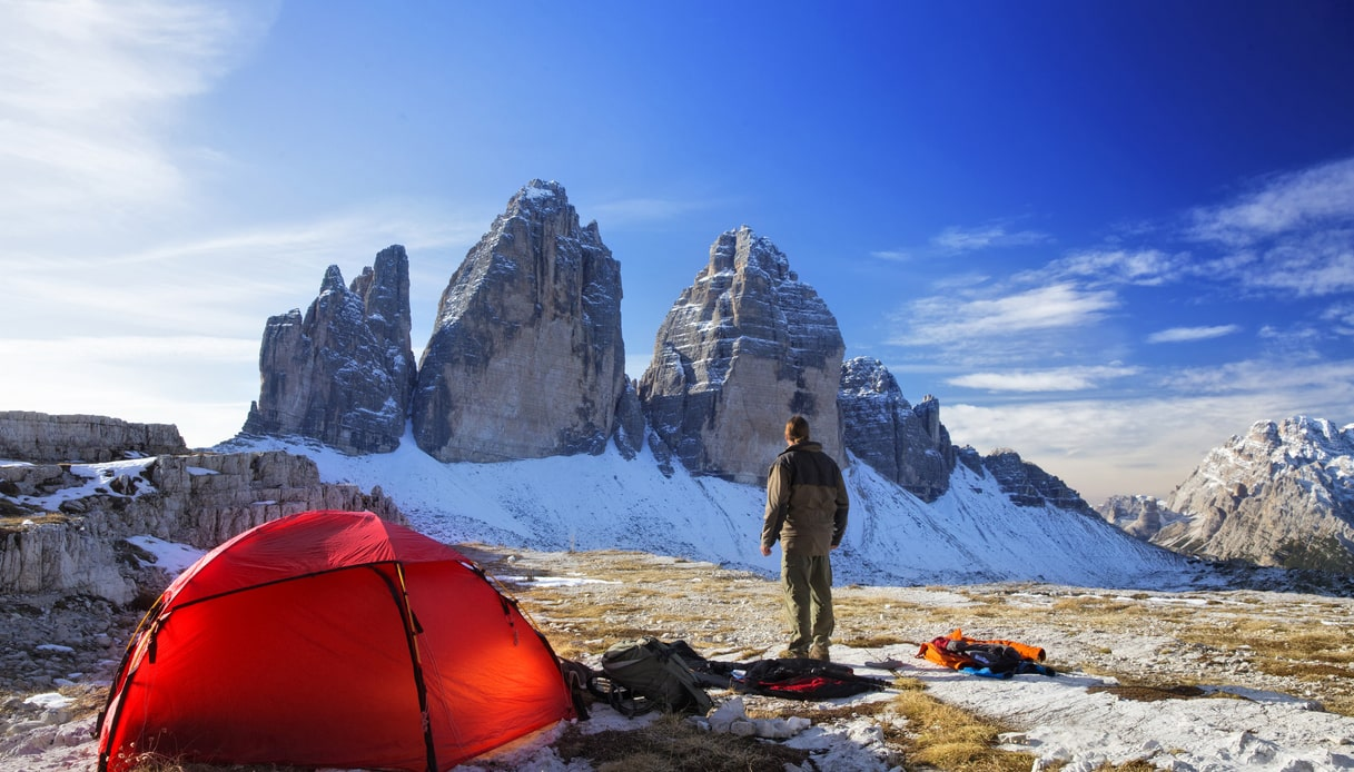 vacanze in tenda