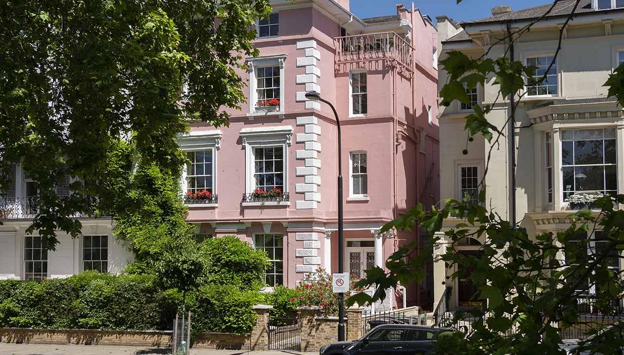 Casa rosa de La Carica dei 101