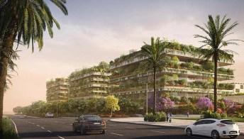 Tre nuovi boschi verticali sorgeranno a Il Cairo: sono i primi del continente africano