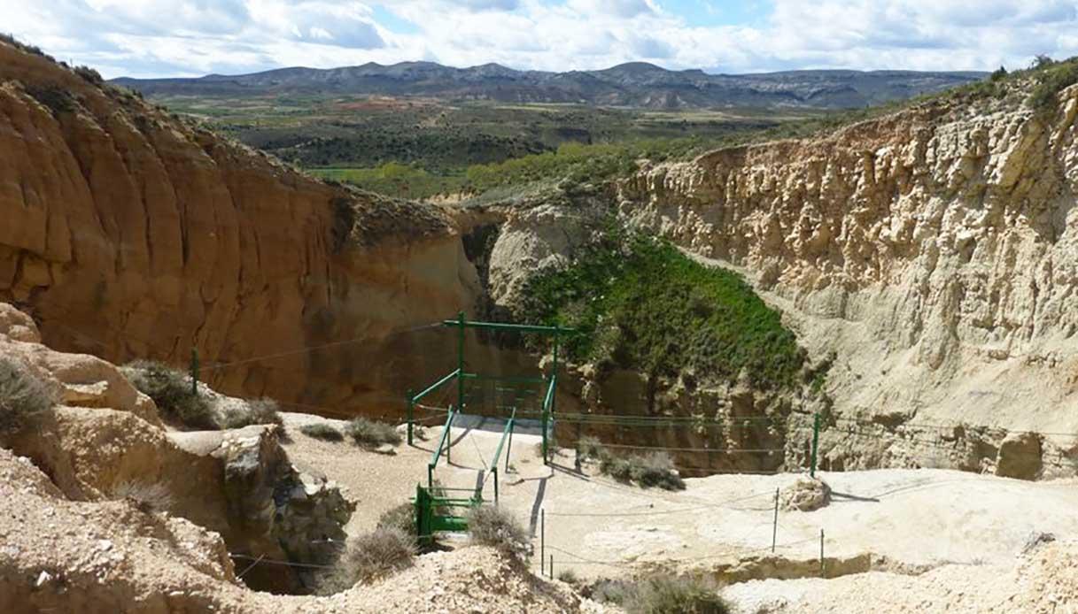 Sima De San Pedro. Fonte: Wikimedia Commons
