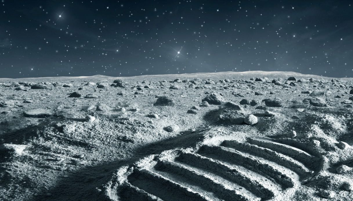 passeggiata lunare