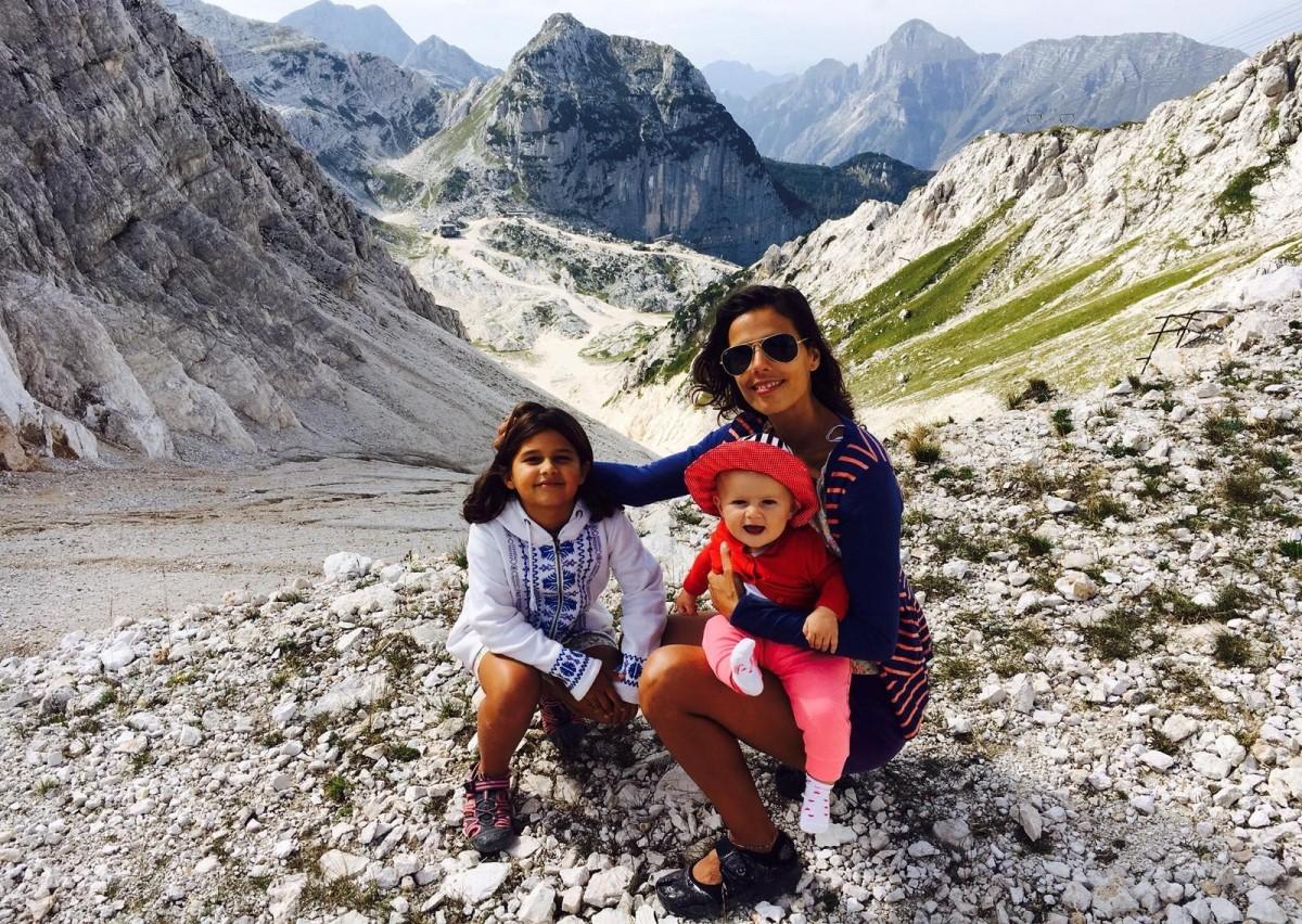 Alpi Giulie tra Slovenia e Italia