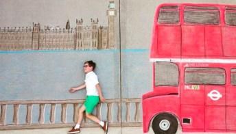 Con gessi colorati e tanta creatività, due fratelli hanno fatto il giro del mondo