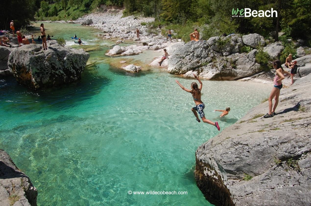 Spiaggia Energia, Fiume Isonzo