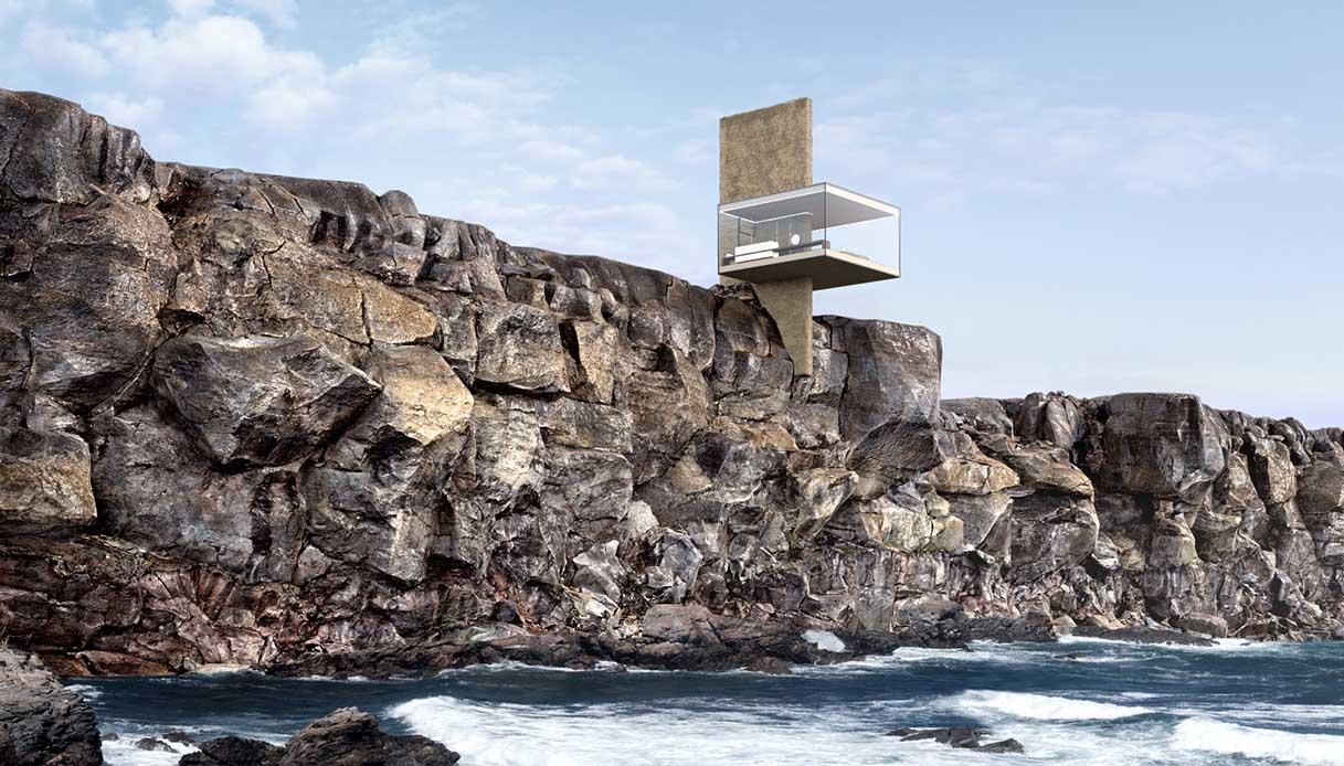Air casa sul mare